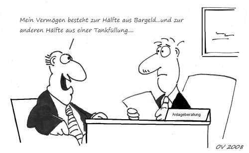 Cartoon-Anlagestrategie (Olaf Varlemann 2008)